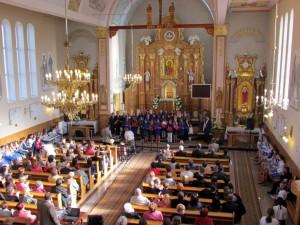 II Dekanalny Przegląd Pieśni Maryjnej w Strażowie 17.05.2015 r.